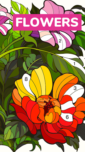 Color Flow - Color by Number. Coloring games. 1.9.2 screenshots 6