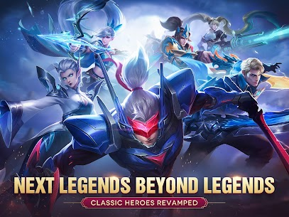 Mobile Legends: Bang Bang (MOD, Money/One Hit/Map) 8