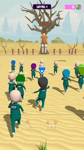 Squid Game 3D: Online Squids Game screenshot 21