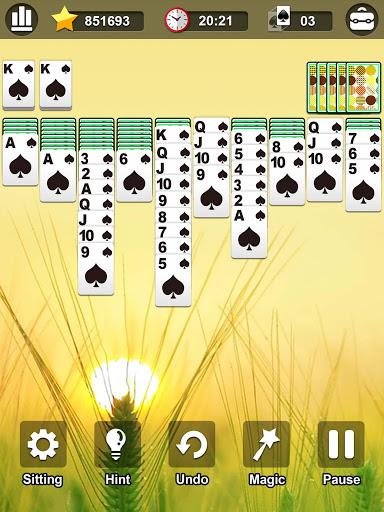 Spider Solitaire 1.2.3 screenshots 7