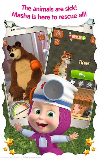 Masha and the Bear: Free Animal Games for Kids 4.0.5 screenshots 8