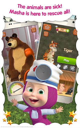 Masha and the Bear: Free Animal Games for Kids screenshots 8