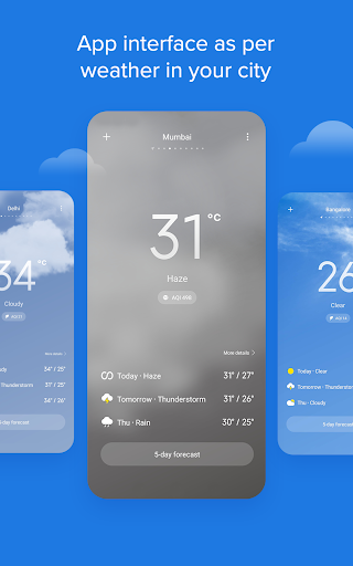 Weather - By Xiaomi modavailable screenshots 3