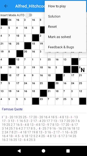 Codeword Puzzles Word games, fun Cipher crosswords 7.5 screenshots 18
