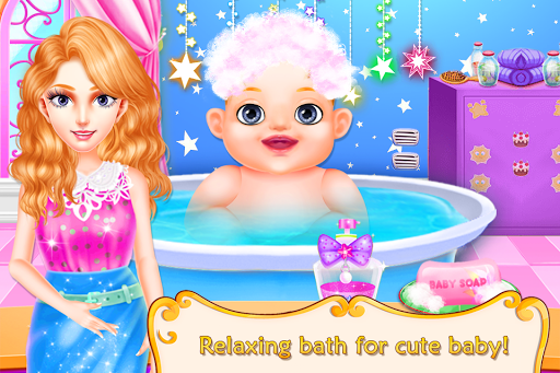 baby care and girls play nursery game for kids screenshot 3