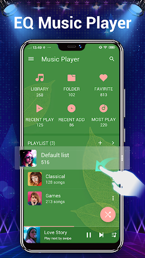 Music Player - 10 Bands Equalizer MP3 Player apktram screenshots 4