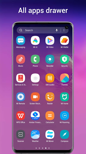 One S10 Launcher - S10 Launcher style UI, feature 6.4 Screenshots 3