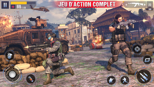 Code Triche Nouveau tireur d'élite commando hors ligne 2020 (Astuce) APK MOD screenshots 3