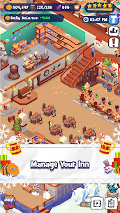 Idle Inn Tycoon MOD (Unlimited Currency) 1