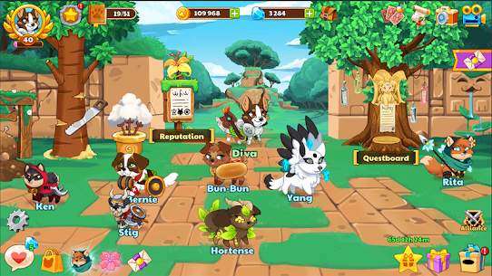 Dungeon Dogs — Idle RPG Mod Apk (Free Shopping + Unlimited Money) 6