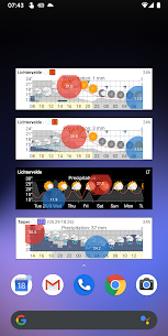 Meteogram Weather Widget – Donate version v2.3.17 MOD APK 1