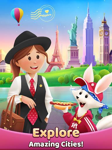 Travel Crush: New Puzzle Adventure Match 3 Game  screenshots 16