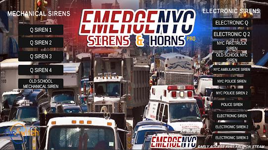 Free EmergeNYC Sirens  Horns 3