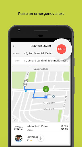 Ola Lite: Lighter Faster Ola App. Book Taxi & Cabs  Screenshots 7