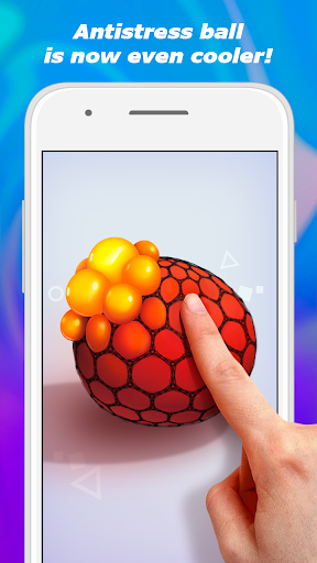 Squishy toy DIY - antistress slime ball, relaxing android2mod screenshots 1