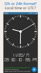 AtomicClock — NTP Time (with widget) Mod Apk (Pro  Unlocked) 6