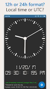 AtomicClock — NTP Time (with widget) Mod Apk (Pro  Unlocked) 6