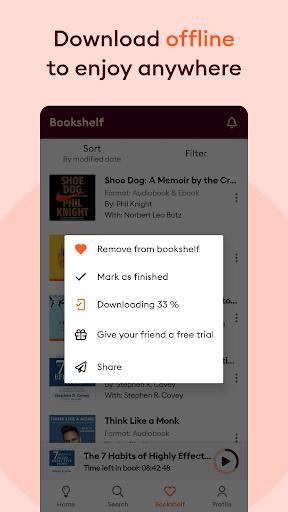 Storytel: Audiobooks and Ebooks screenshots 13