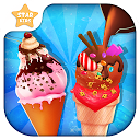 Frosty Ice Cream Maker: Crazy Chef Cooking Game