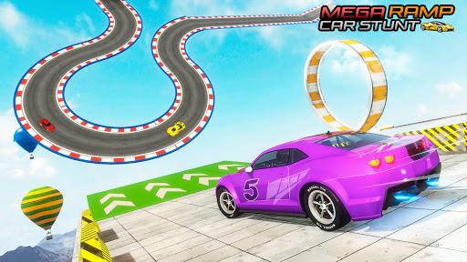 Mega Ramps Car Games - GT Racing Stunt Game 2.0 screenshots 1
