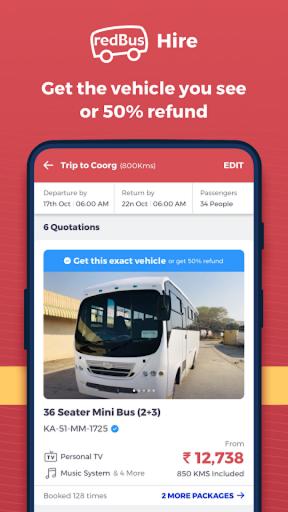 redBus - Largest Online Bus Ticket Booking App apktram screenshots 8