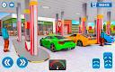 screenshot of Gas Station Car Driving Simulator Car Parking Game
