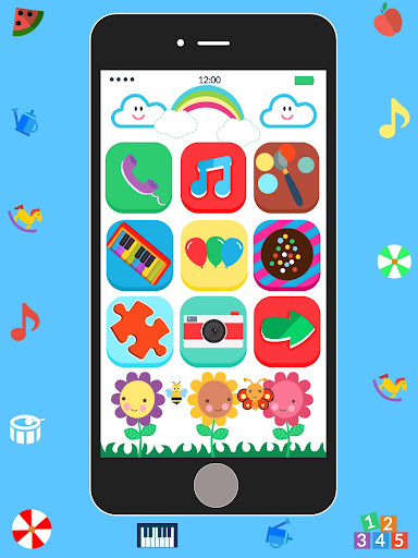 Baby Real Phone. Kids Game 2.1 Screenshots 14