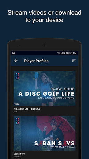 Disc Golf Network  screenshots 4