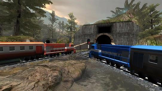 Train Racing Games 3D 2 Player MOD APK (Unlimited Money) 4