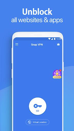 Foto do Snap VPN - Unlimited Free & Super Fast VPN Proxy