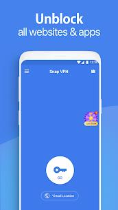 Snap VPN – Unlimited Free & Super Fast VPN Proxy Mod 4.4.2 1