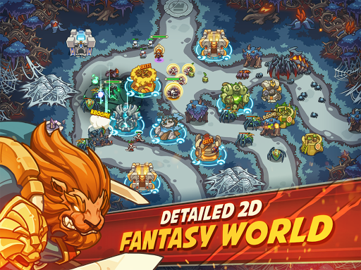 Empire Warriors Premium: Tower Defense Games screenshots 1