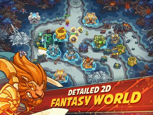 Empire Warriors Premium: Tower Defense Games 2.3.8 screenshots 1