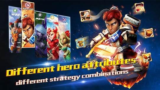 Lionheart Mod Apk: Dark Moon RPG (Unlimited Skills) Download 9