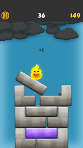 Flamey – Balance ! Crush tower, jump, six effects Hack Online (Android iOS) 5