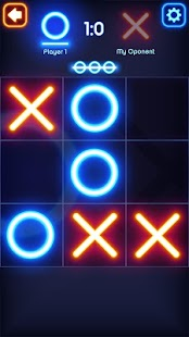 Tic Tac Toe Glow Screenshot
