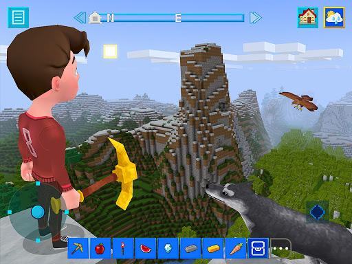 Terracraft Survival: Mine Blocks, Build and Craft 1.2.1 screenshots 1