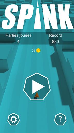 spink - fast endless runner screenshot 1