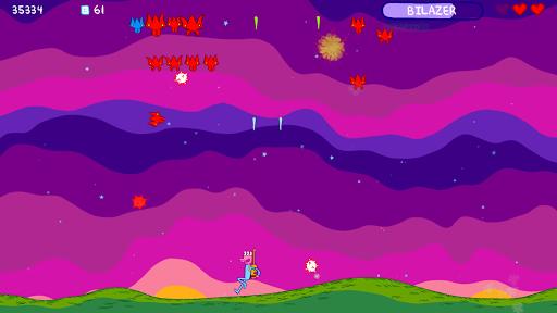 glorkian warrior: shoot weird space invaders screenshot 1