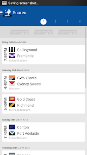 AFL Live Scores  For Pc (Windows 7, 8, 10 And Mac) 1
