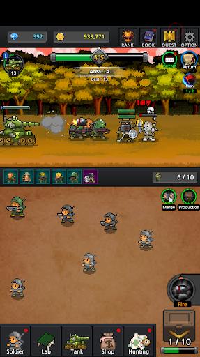Grow Soldier - Idle Merge game 3.7.0 screenshots 3