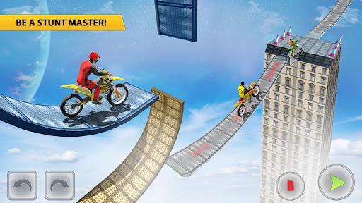 Bike Stunt Racing 3D Bike Games - Free Games 2021 apklade screenshots 2
