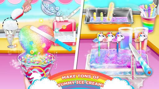 Télécharger Gratuit Unicorn Chef: Summer Ice Foods - Cooking Games mod apk screenshots 3