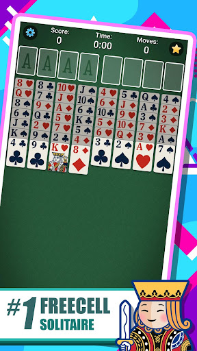 FreeCell Solitaire 5.4.3.3377 screenshots 1