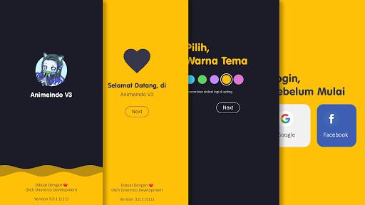 AnimeIndo - V3 Aplikasi Anime Sub Indo Apkfinish screenshots 1