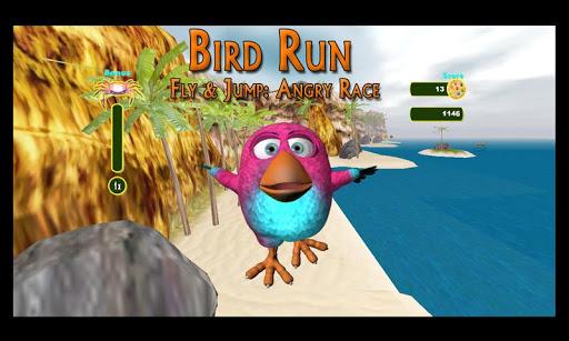 ud83dudc4d Bird Run, Fly & Jump: Angry Race  screenshots 3