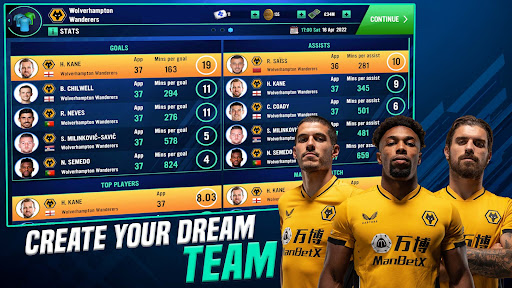 Soccer Manager 2022- FIFPRO Licensed Football Game screenshots 3
