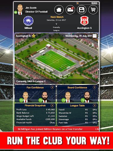 Club Soccer Director - Soccer Club Manager Sim 2.0.8e screenshots 20