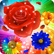 Flower Mania: Blossom Bloom Match 3 Game