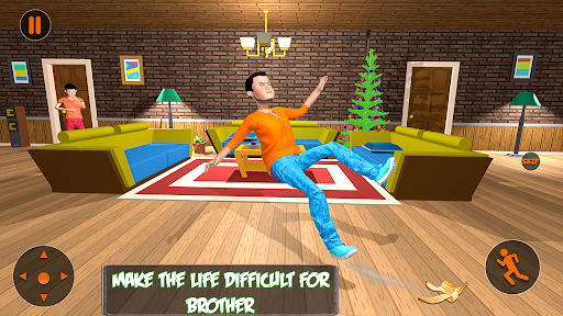 Scary Brother 3D - Siblings New family fun Games apkdebit screenshots 1